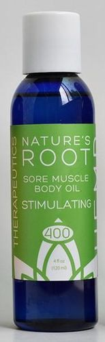Sore Muscle Body Oil 400 Stimulating 4 oz