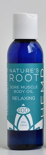 Sore Muscle body Oil Relaxing 4 oz