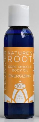 Sore Muscle body Oil Energizing 4 oz 400